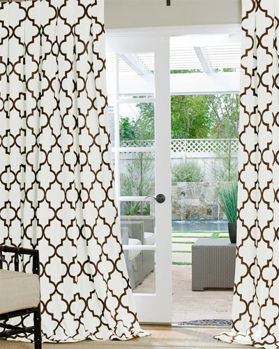 Geometric Poly Custom Drapes